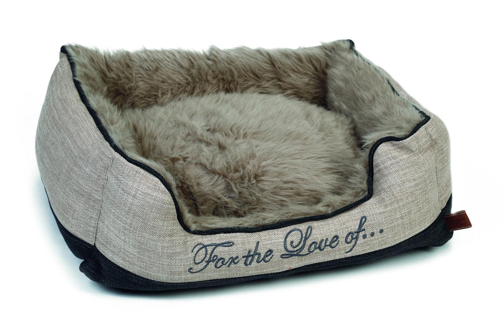 designed by lotte hundebett 39 dallam 39 beige 3 gr en. Black Bedroom Furniture Sets. Home Design Ideas