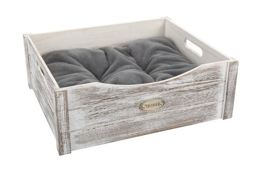 Scruffs Rustic Wooden Bed Driftwood